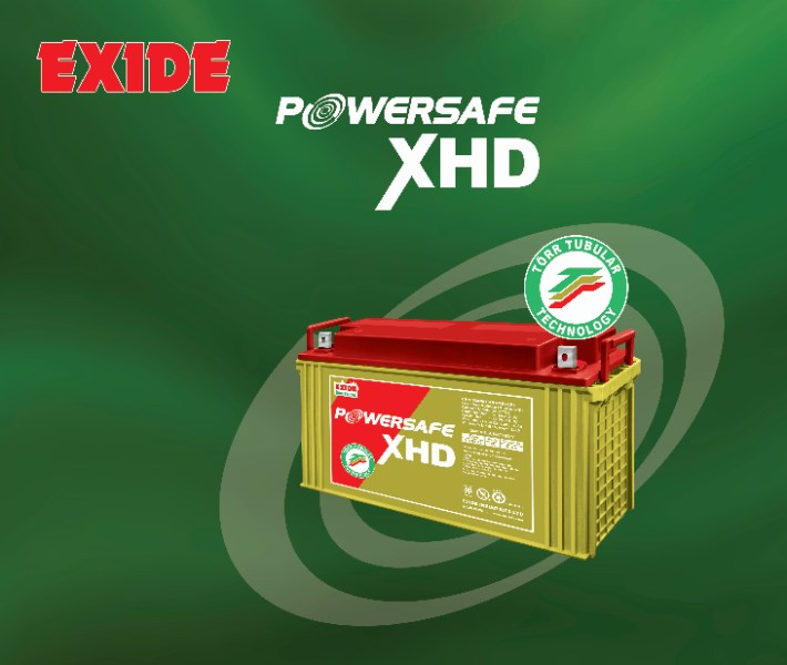 The Legendary Exide Torr Tubular Reliability now comes maintenance free from the state of the art manufacturing line. Exide launches new Powersafe XHD series with unique GEL technology mainly for UPS application. These batteries are designed with tubular positive plate and GEL Electrolyte.    PRODUCT FEATURES: Maintenance Free - No topping Up ever, UPS system,Capable for deep cycling,Process Instrumentation and control, No acid stratification, Office automation equipment's, Supplied factory charged- ready to use, EPABX system, Designed for long life, Electronic attendance and Cash register,  Compatible to CC-CV charging,Fire alarm and Security system, Deep discharge protected technology        Exide Power Center is trusted by generations for being a marketing expertise and largest lead battery manufacturers such as Powersafe EP VARLA Batteries, Powersafe NXT VARLA Batteries, Powersafe XHD VARLA Tubular Batteries and Powersafe UPST. Our Powersafe EP VARLA Battery is a valve regulated lead acid battery while the Powersafe NXT VARLA Battery is a long hour running battery that comes with three years warranty. Powersafe XHD VARLA Tubular Batteries that we manufacture are well recognized for their torr tubular toughness. Powersafe UPST assures uninterrupted power supply system for telecommunication and railway signaling.