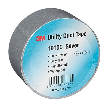 3M 1910C Duct Tape, 48mm x 50m (Pack of 5)