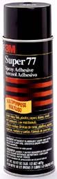 3M Super 77 Multi-Purpose Spray Adhesive,24 Fl.Oz (Pack of 5 cans)