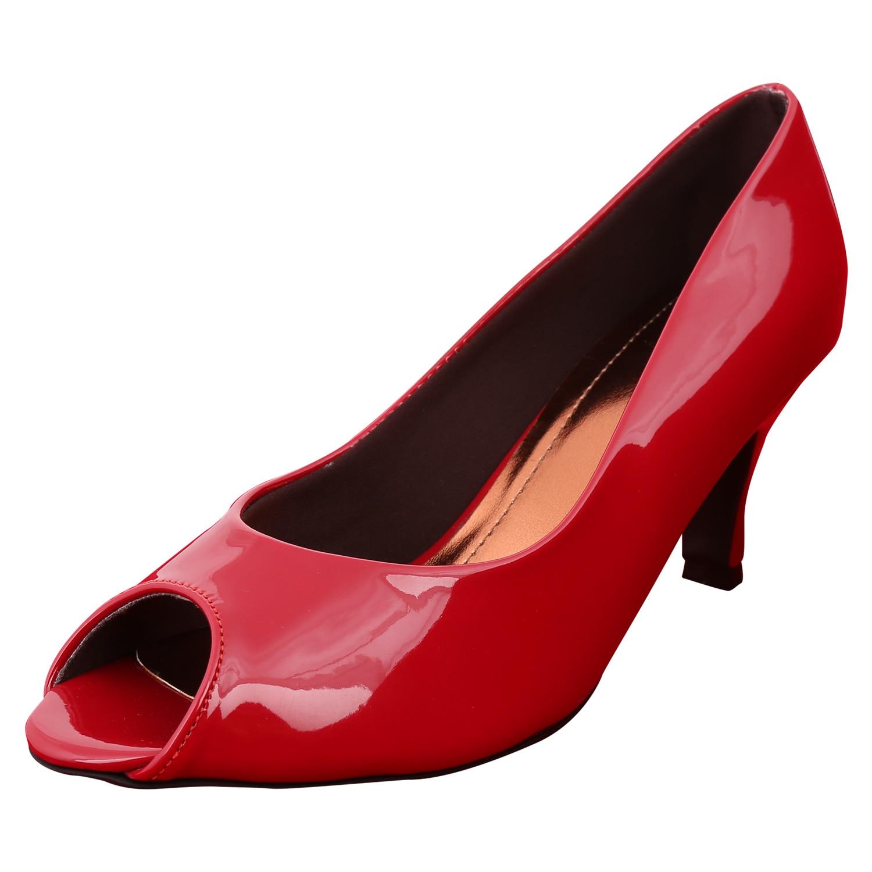 Exotique Women Red Heels -EL0008RD