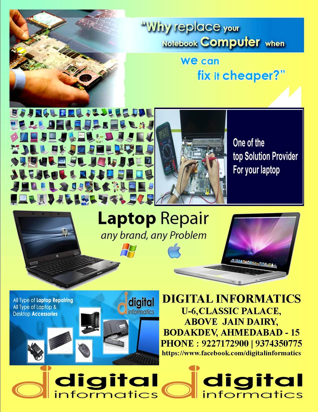 Laptop Accessories & Rapairing
