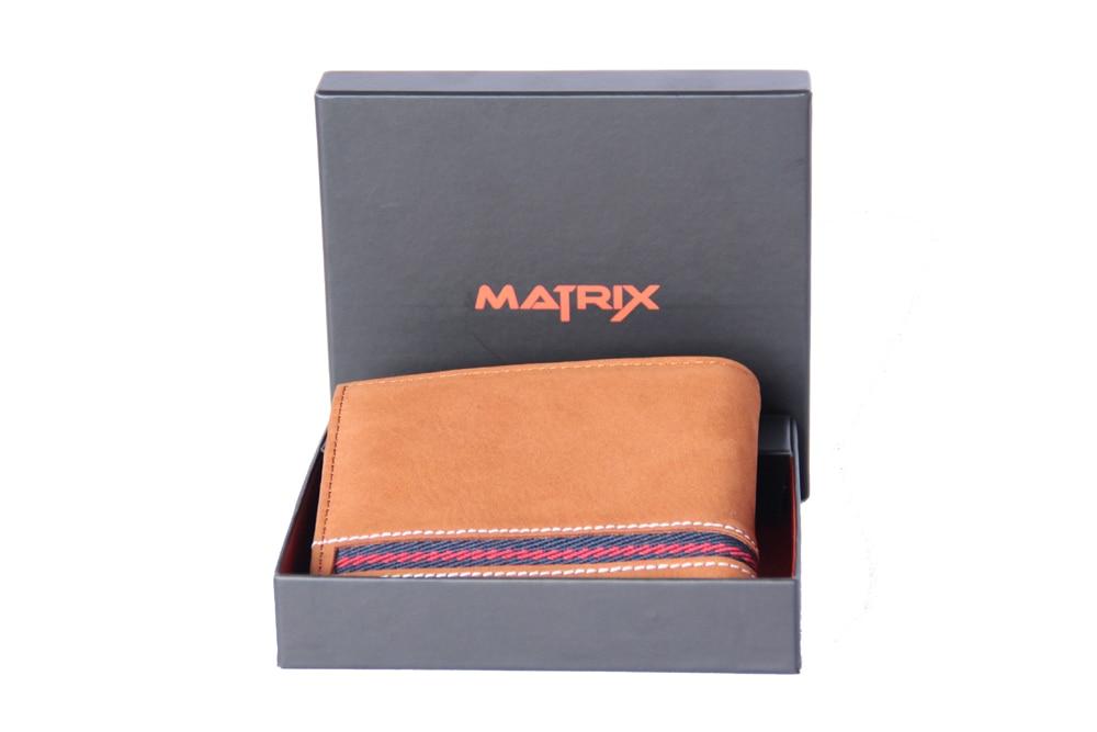 Matrix Leather Wallet For Men (MMW104)
