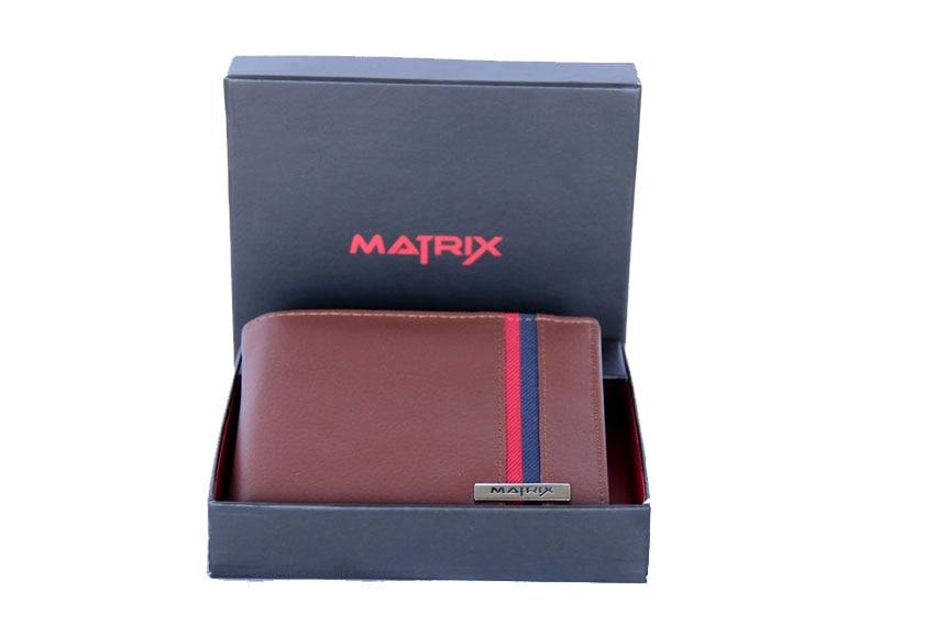 Matrix Leather Wallet For Men (MMW110)