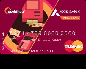 Axis Bank Atm/Prepaid Card