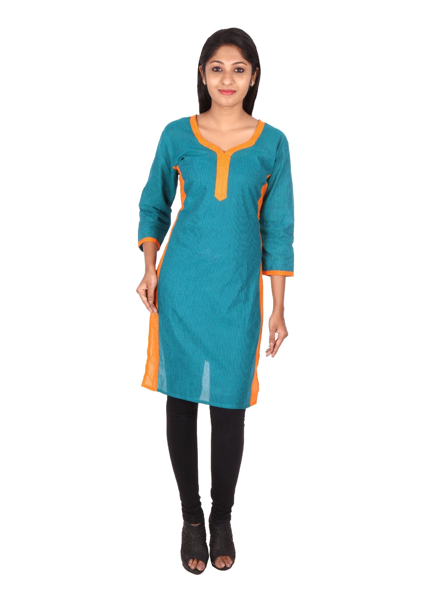 SUSHIL  STRIPED COTTON KURTI