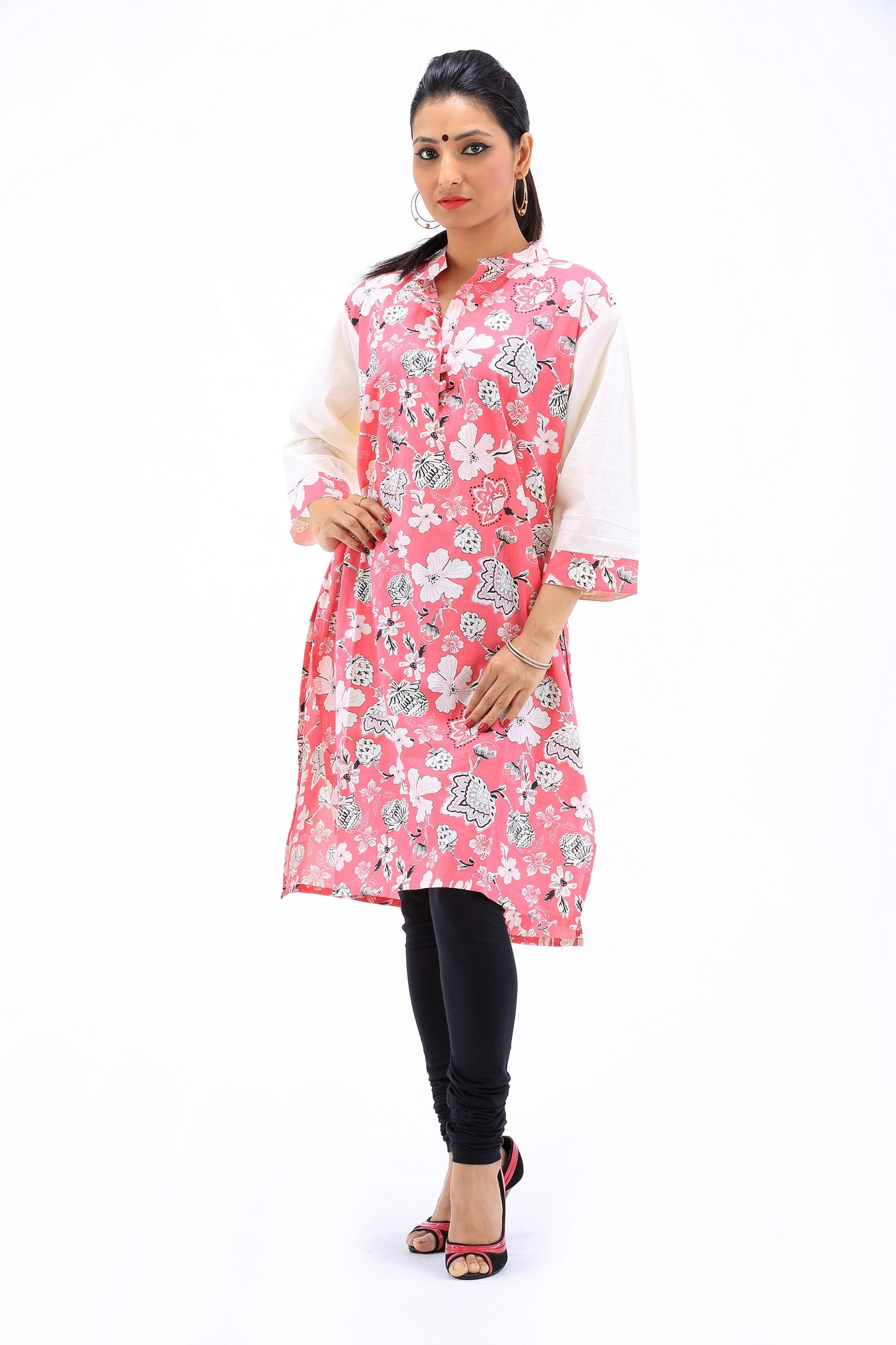 PRINTED CAMBRIC COTTON KURTI