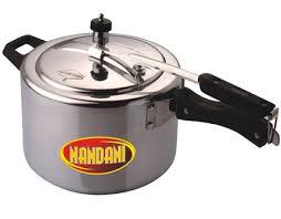 Nandini inner lid 5 ltr Aluminium cooker.