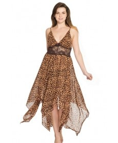 'Cheetah' Flowy Baby Doll