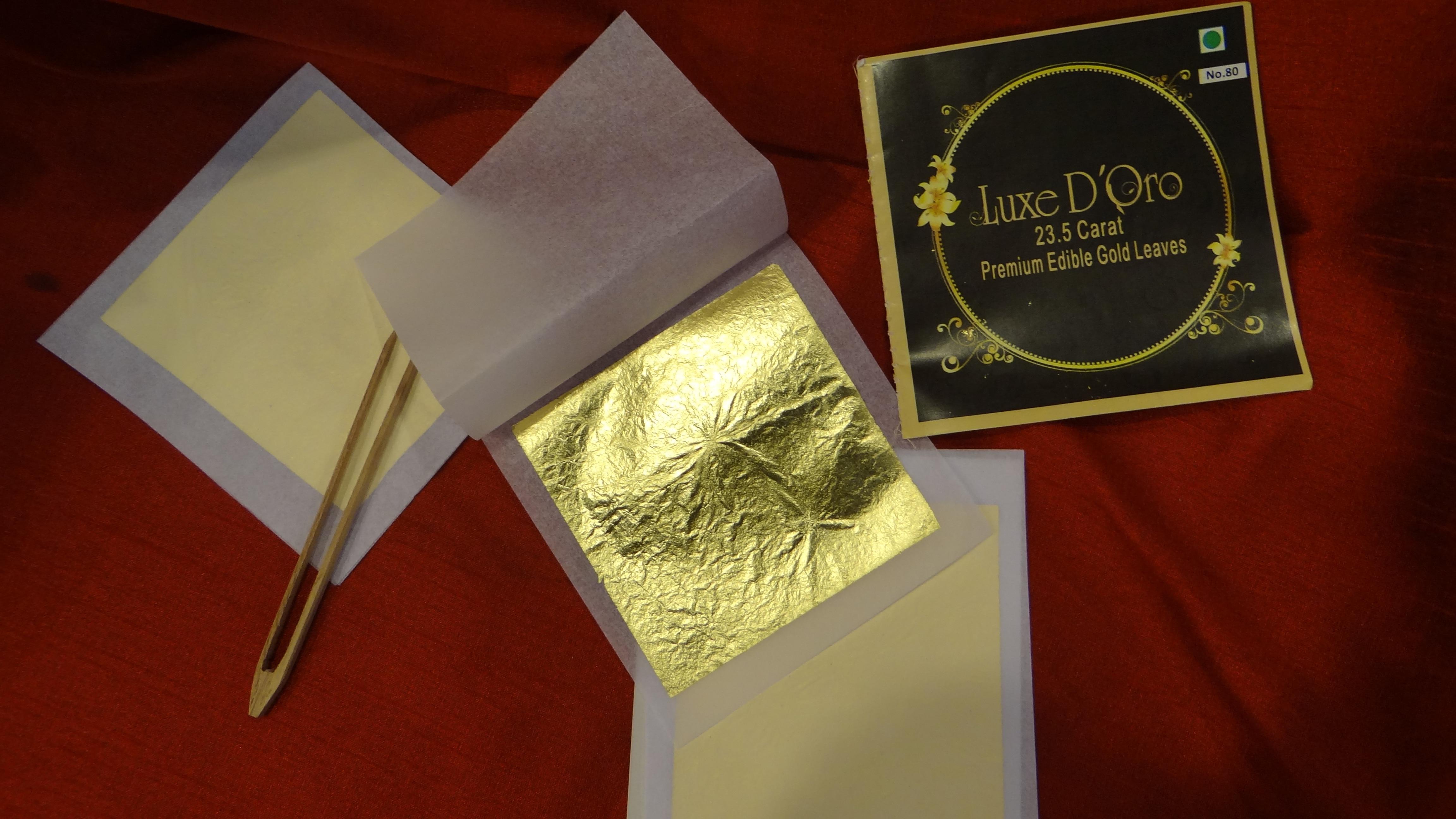 Gold Leaf No 80 - Pack of 25 Leaf