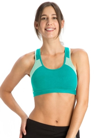 Power Back Padded Active Bra  Style 1380