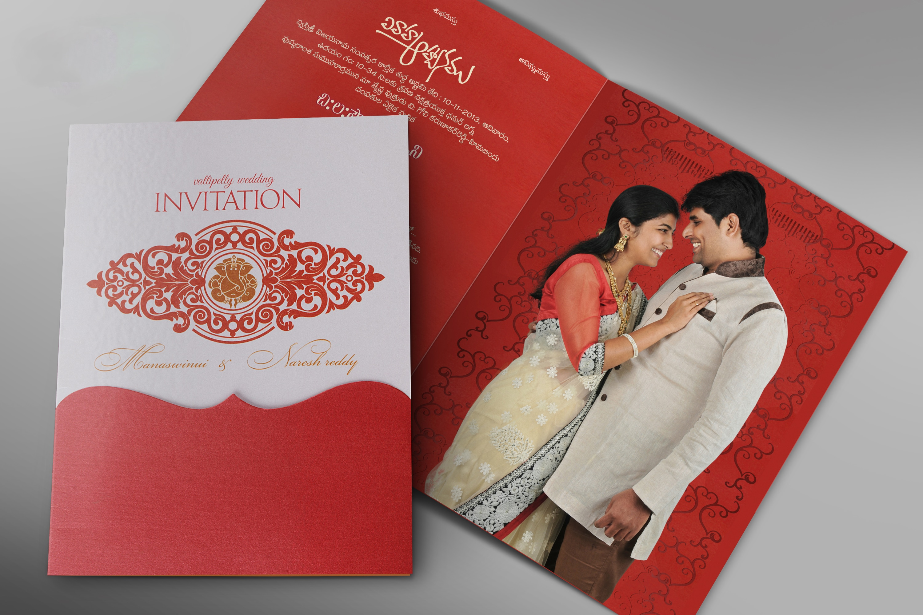 creative wedding cards in Hyderabad ,India from VIGNA PHOTOGRAPHY ...