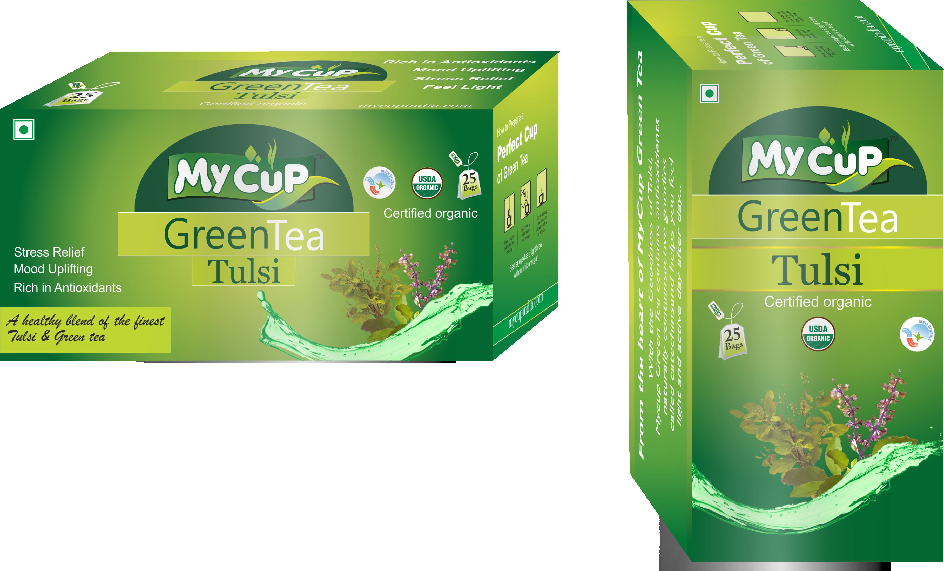 Mycup Organic Tulsi Green Tea
