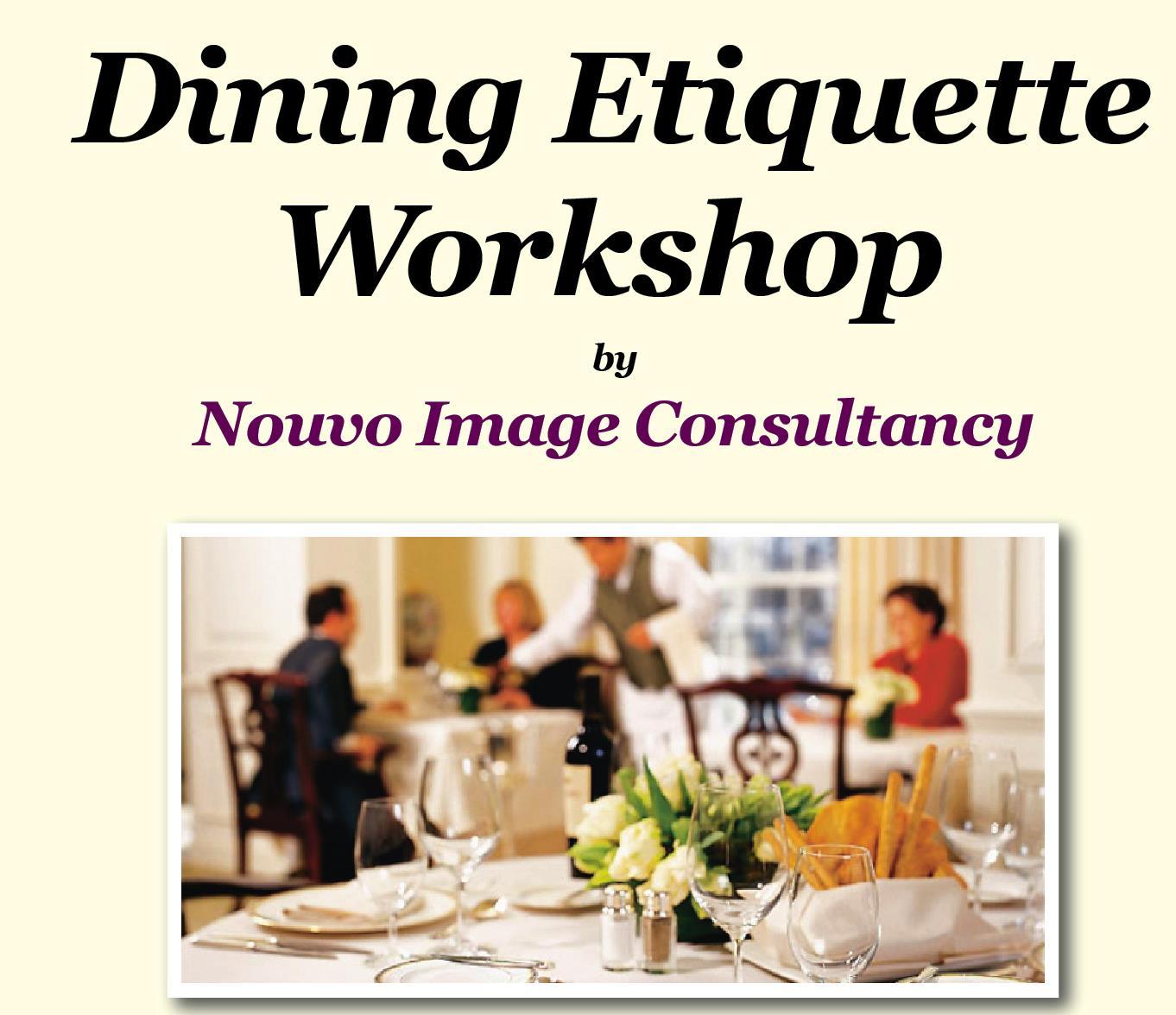 Dining Etiquette Workshop