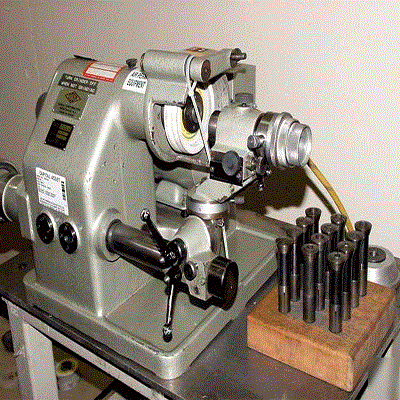 Tools and Cutter Grinder
