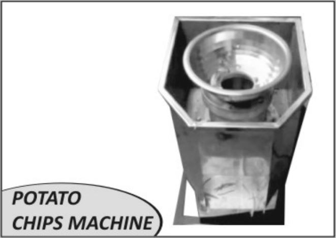 we are making POTATO SLICER (CHIPS) MACHINE with different SIZE of CAPACITY . POTATO SLICER MACHINE is available in all the type of CAPACITY.