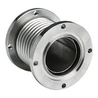 Metallic Expansion Joints are installed in pipe work and duct systems to prevent damage caused by thermal growth, vibration, pressure thrust and other mechanical forces. There is a wide range of metallic bellows designs in a variety of materials. Options range from the simplest convoluted bellows used in petroleum refineries. Materials include all types of stainless steels.  Any pipe connecting two points is subjected to numerous types of action which result in stresses on the pipe. Some of the causes of these stresses are:  internal or external pressure at working temperature  weight of the pipe it self and the parts supported on it  movement imposed on pipe sections by external restraints  thermal expansion Features: 1) Balances and compensates to prevent displacement or vibrations in extreme temperatures, pressure, or thrust. 2) Used extensively in all facets of the high-tech steel industry as well as other industries. 3) Have good flexibility and handle extreme temperature and pressure well. 4) They can play an important role in hose reciprocating motion, thermal expansion absorption, vibration absorption and adjusting compound tube center. 5) Important connector for gas, oil and water with modern equipment pipeline systems and piping projects. 6) Axis direction compensate: 10 - 100mm. 7) Angle direction compensate: 10 - 40 degrees. 8) Work temperature: -20 - 450 degrees. 9) Length: 100 - 2,000mm or custom request.