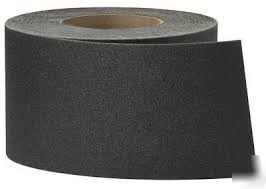 LOHMANN ANTI SKID TAPE IN BLACK AND WHITE COLORS  IDEAL FOR HEAVY TRAFFIC AREAS, STAIRCASES, BATHROOMS, DRIVEWAYS ETC  READY STOCK AVAILABLE !!!!