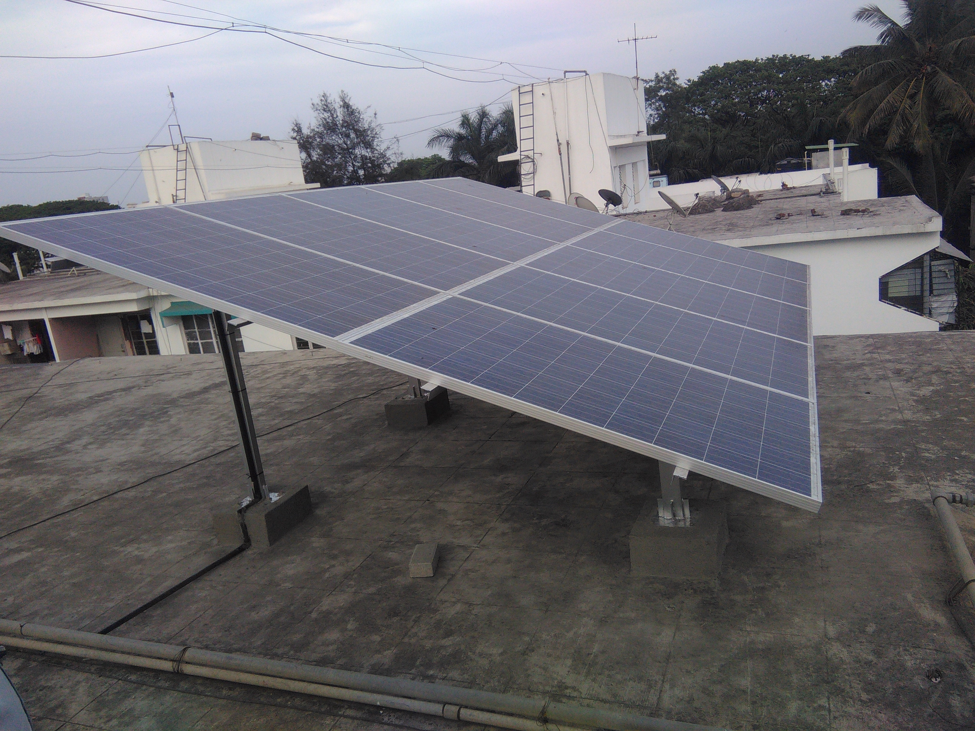3 Kw - Solar Rooftop Plant