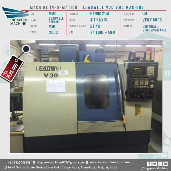 Machine: Leadwell V3