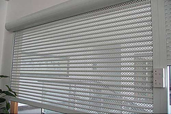 Gi Perforated Rolling Shutter