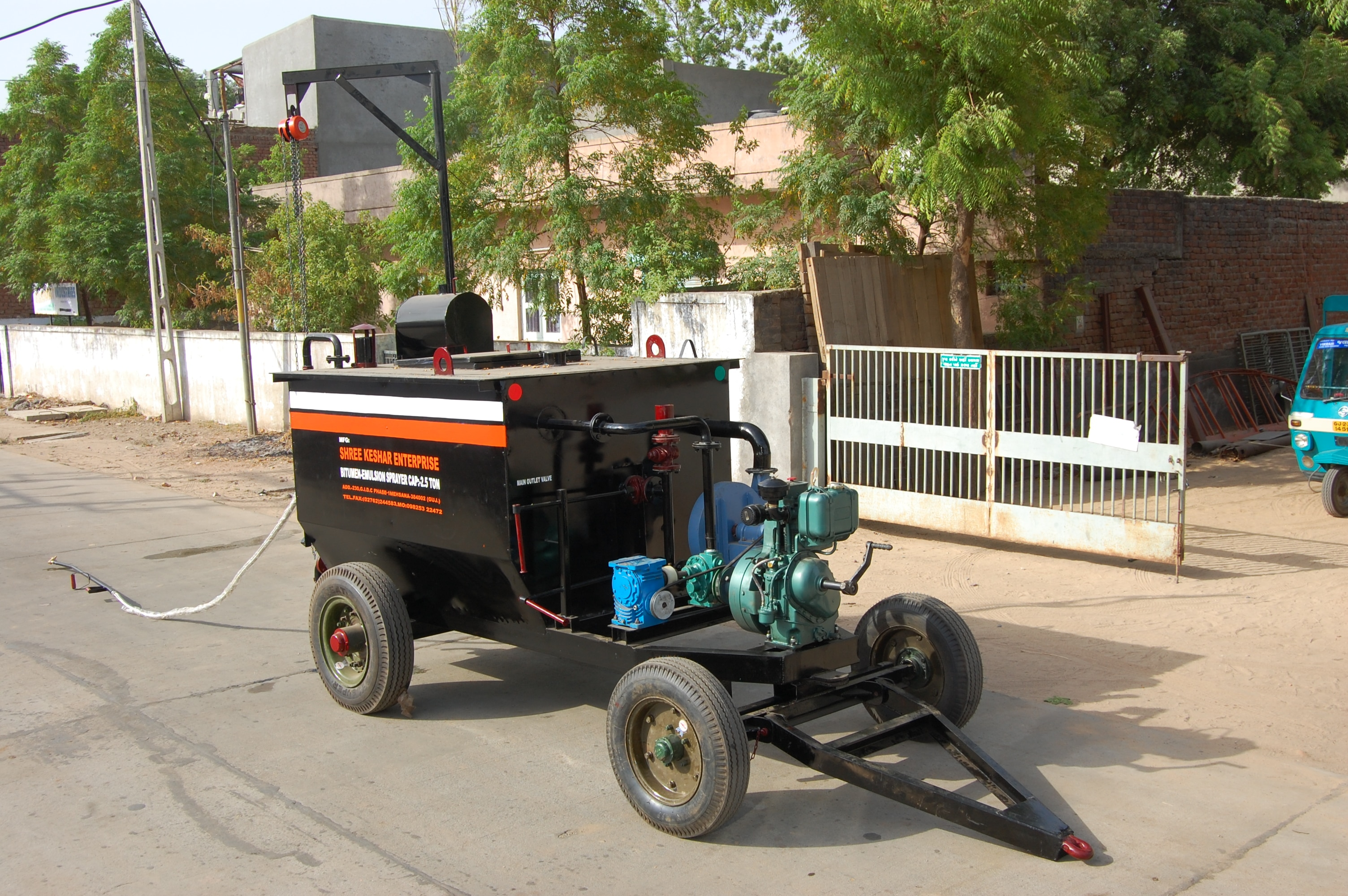 Bitumen Sprayer (Tractor Linked)