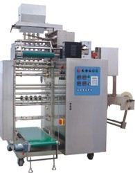 Leveraging on our technical expertise, we are able to manufacture and supply a wide range of pouch packaging machines. Our team of professionals especially engineers these packaging machines using cutthroat technology and quality-tested materials. Entire range of packaging machines for pouch complies with international quality standards. Pouch packaging machines delivers consistent performance by consuming less energy. Our array of pouch packaging machines is widely acclaimed for their unique quality features such as compact design, robustness and durability. Packaging machines for pouches are available with customized design. Our clients can easily install and maintain our pouch packaging machines efficiently. The use of high quality materials in packaging ensure for defect free transportation of packaging machines. We avail our pouch packaging machines in the markets at the industry leading prices..
