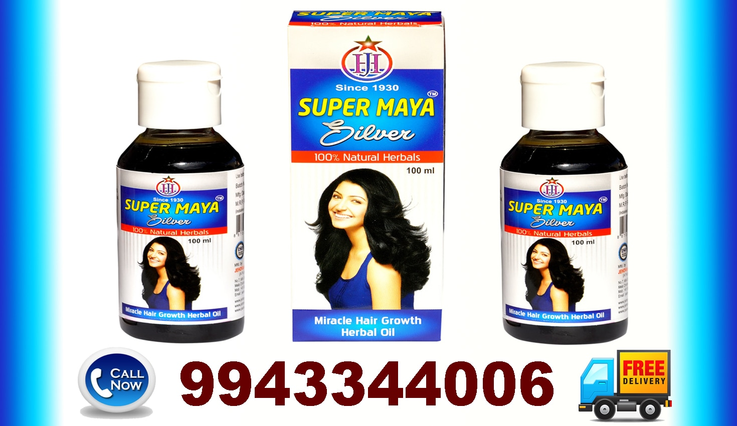 Hair Growth Oil- Super Maya - Gmp, Iso Certified Company