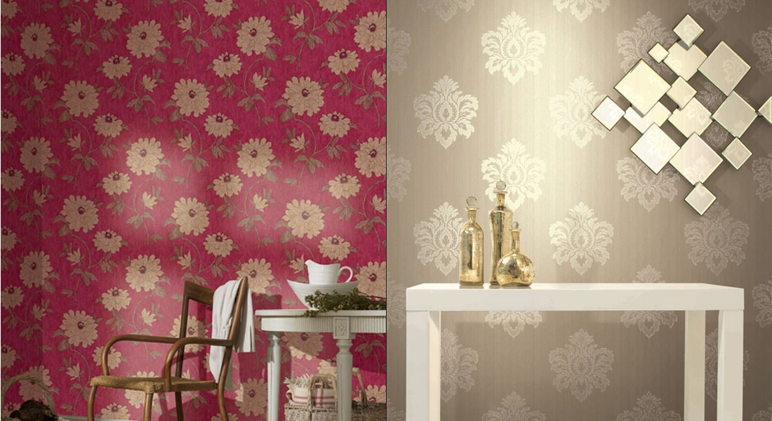 BUY WALLPAPERS / WALLCOVERINGS in Hyderabad, India from DHARMIK ...