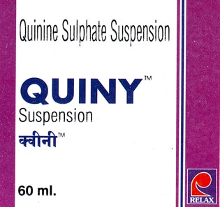 Quiny Quinine Sulphate 60Ml. Syrup