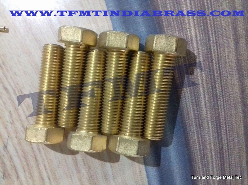 Brass Fasteners Brass Bolt Manufacturer Jamnagar Gujarat India
