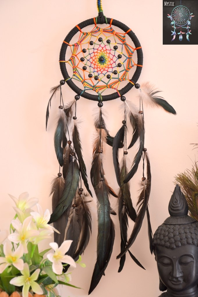 Mystic Black And Multicolor Dreamcatcher (Collection 01, 2017)