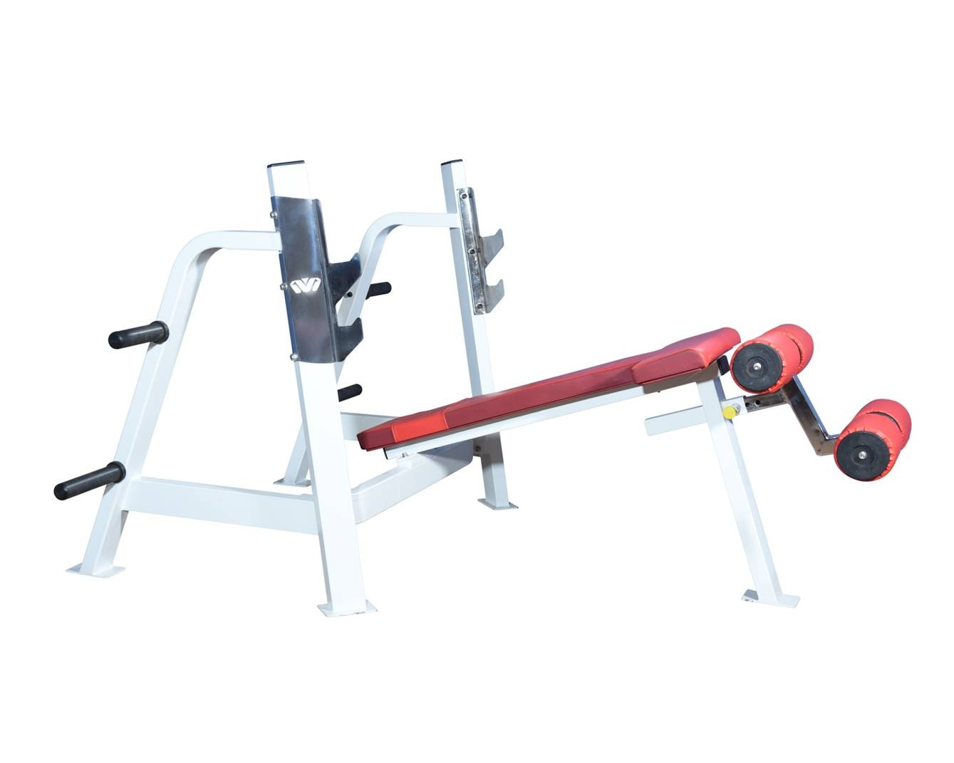 Make: Maruti Gym Equipments  Equipment: Olympic Decline Bench  Model: MGE-ODBP