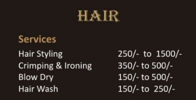 HAIR STYLING PACKAGE