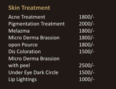 SKIN TREATMENT PACKA
