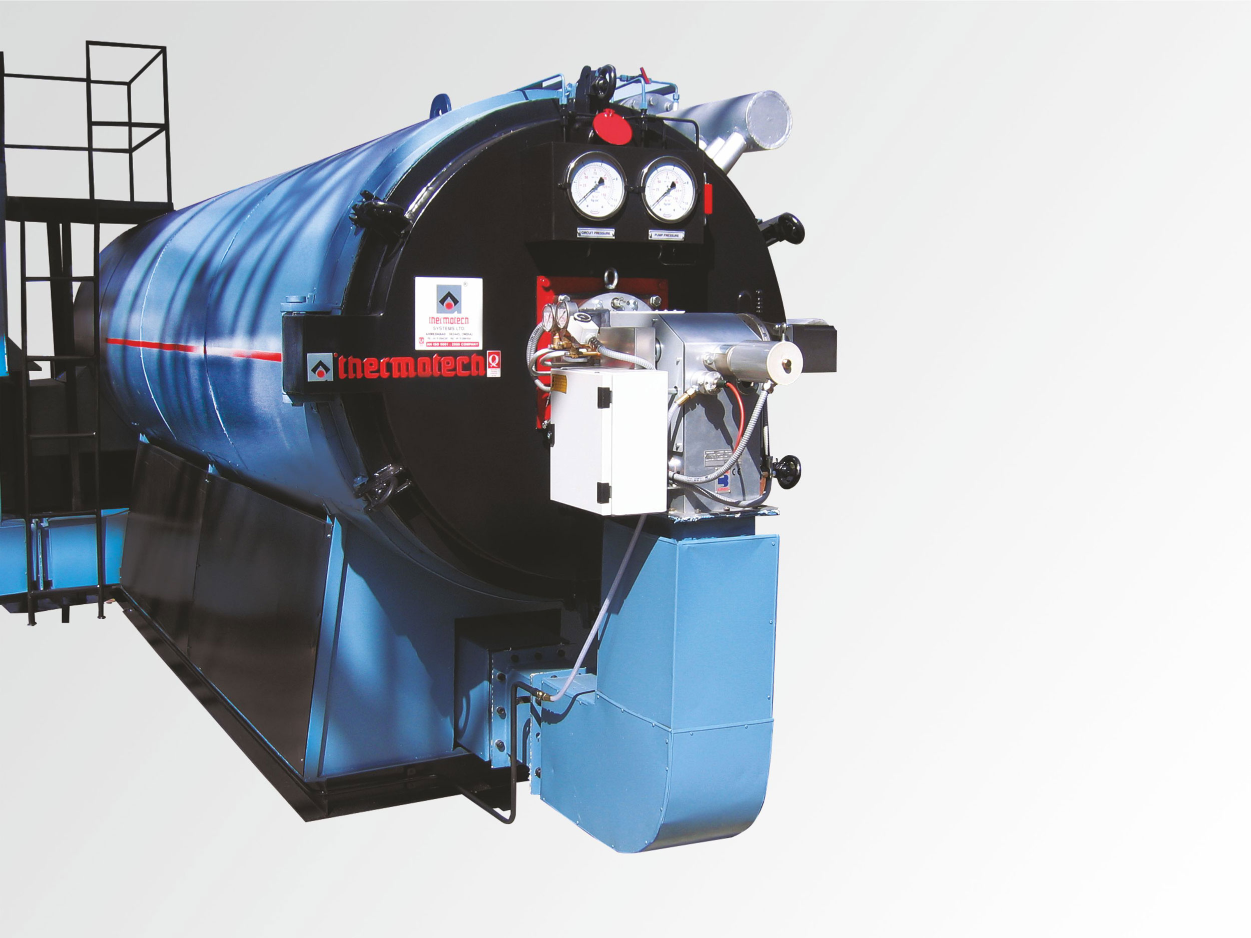 Backed by our well structured infrastructure unit, we are affianced in providing precision engineered Oil/Gas Fired Hot Water Generator. This generator is a safer and economical system which delivers hot water much faster than any other system. It's most ideal usage includes hotels, hospitals, residential complex, laundry, dairy industries, etc., where continuous hot water supply is essentially required. The offered generator is efficiently manufactured using standard quality components and advanced machines in complete sync with defined industry standards. Additionally, the offered Oil/Gas Fired Hot Water Generator is stringently tested on certain parameters under the direction of our deft quality controllers.  Features: Energy efficient Trouble free functioning Easy to operate Longer service life  The WATERTHERM is a very compact fully automatic packaged hot water generator in ready to install condition and can be installed where ever space is available. It does not require any special room like boiler house. It falls outside the purview of Indian Boiler Regulations. WATERTHERM is a safer and economical system which delivers hot water much faster than any other conventional system. It's most ideal usage includes HOTELS, HOSPITALS, RESIDENTIAL COMPLEX, LAUNDRY, DAIRY INDUSTRIES, etc. where continuous hot water supply is essentially required. WATERTHERM system is available in wide range of heat output from 0.1 Mkcals/hr. to 15 Mkcal/hr.,  A New Perception In Quality Thermotech Established Back In 1988, Is Today A Leading Industry In Process Heating Systems.  The Great Impetus Lies In The Hard Work, No Quality Compromise, Implementing Latest  Technologies And Above All Incredibly Environmental Compliance.  A Large Network In India Provides Prompt And Assured Quality Service To Our Valued Clients Within No Time.  Watertherm - A New Concept In Hot Water Boilers Heat Exchanger Of Hot Water Generator Are Fabricated Out Of Boiler Tube Bs 3059 Of Adequate Size, Accurately 