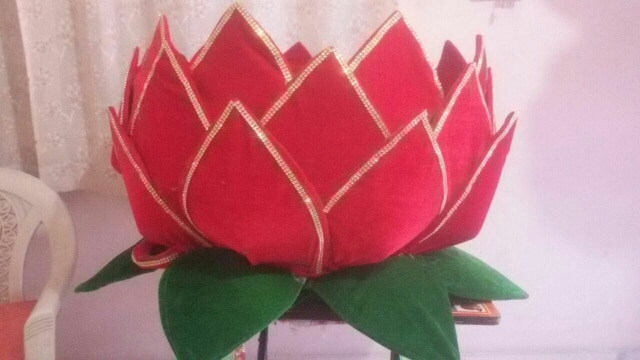 lotus pelli butta used in wedding