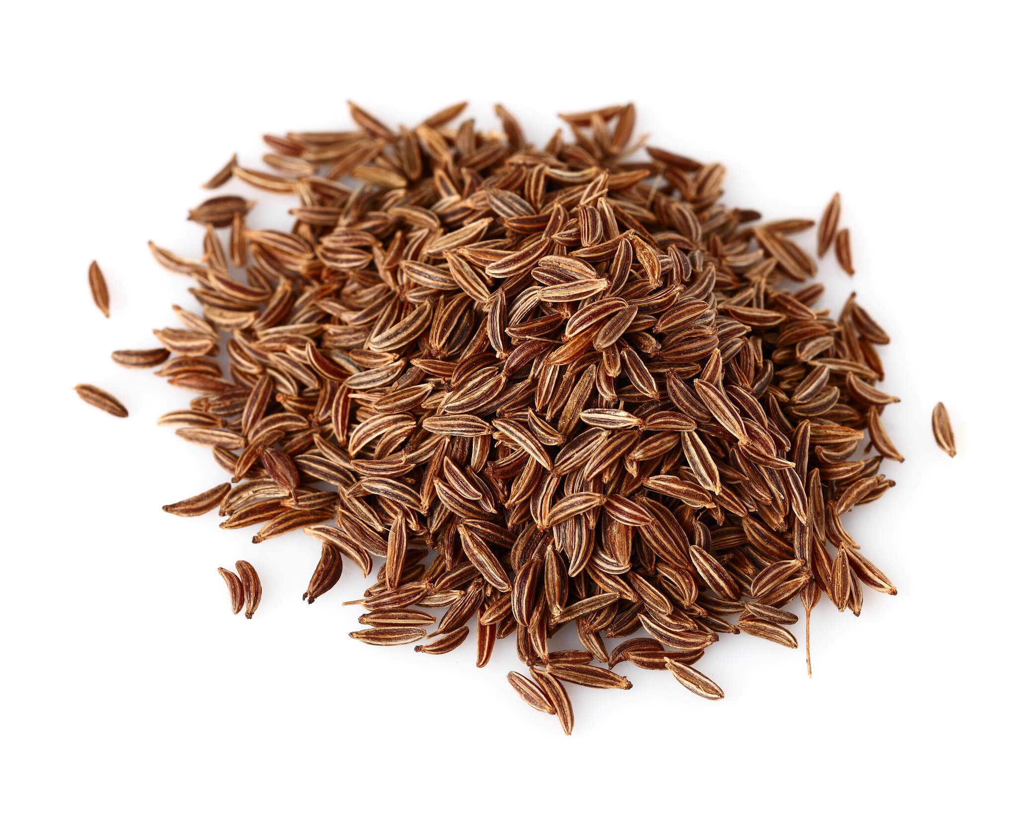 Description: Caraway, recognized as Persian cumin, is a biennial herb belongs to Apiaceae family. Its native place includes Europe, Asia, and Northern America. It is scientifically termed as Carum carvi, additionally labeled as Apium Carvi, its scientific name. Caraway seeds are popularly used as spice, especially in Europe and Indian subcontinent.  Synonyms: Caraway oil, Carum carvi, Meridian Fennel, Persian Fennel. Botanical Name: Carum Carvi Part Used: Ripe Seeds Color: Colorless to Yellow Viscosity: Watery in viscosity Perfumery Note: Characteristic Shelf Life: Two Years Density: 0.904-0.920 Refractive Density: 1.484-1.490   Extraction: The essential oil of Caraway is extracted from the dried Caraway seeds through the steam distillation process. It yields 2-8%.    Origin: Caraway oil originates from the Asia Minor, and widely distributed in Russia, Africa, and Northern Europe. It's an old spice that is widely used as flavoring agent for cooking purpose. Caraway plant has soft leaves with pink flower and can grow up to 60-62 cm.    Abstract: Essential chemical constituents of Caraway oil are Carvone, Limonene, Acetaldehyde, Cumuninic aldehyde & furfurol.   Concoction: It can be easily blend with other essential oils such as orange oil, ginger oil, Lavender oil, Frankincense, Coriander Chamomile oil & Basil oil.   USES: Pharma Uses Caraway oil is an expectorant & cure asthma, cough & bronchitis. It is very helpful in sore throat, laryngitis, & urinary problems. Cosmatics Uses Caraway oil is used in massage oil and help skin to fight against infections.  It is used as anti-aging agent and has the power of tissue regeneration.  Food and Flavoring Uses Caraway oil is used as a food's flavoring agent and mouth freshener.  It is used in deserts & Indian Dishes like rice Dishes.