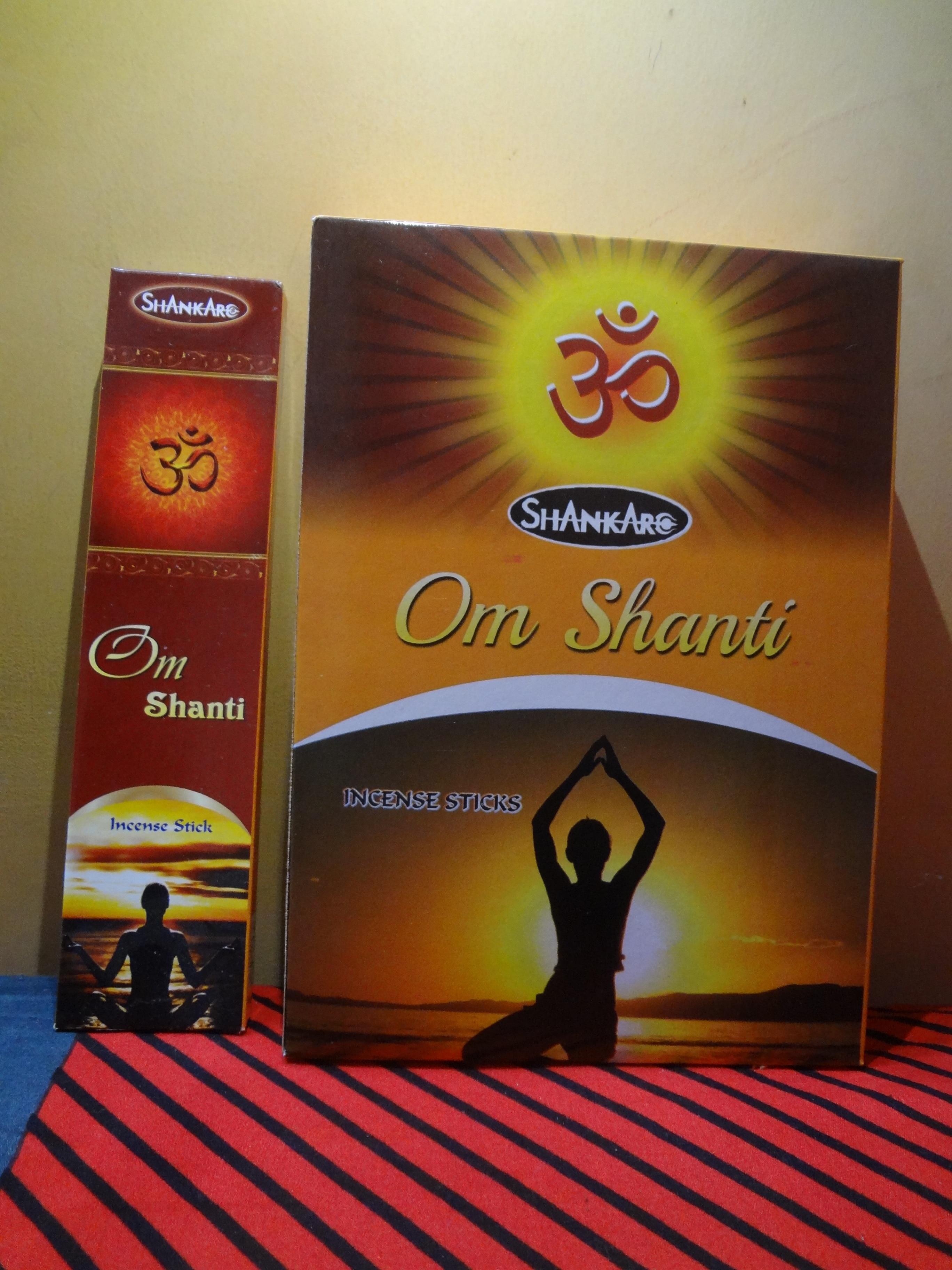 Om Shanti-Insence Stick