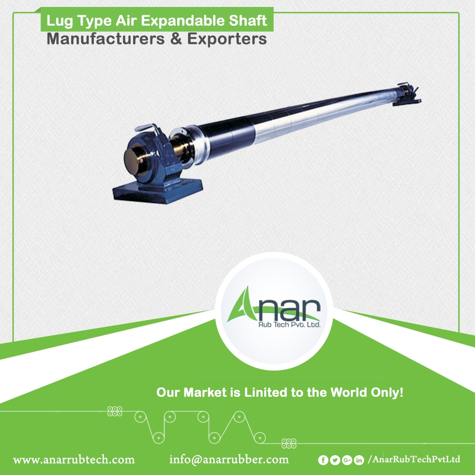 Lug Type Air Expandable Shaft Manufacturers & Exporters