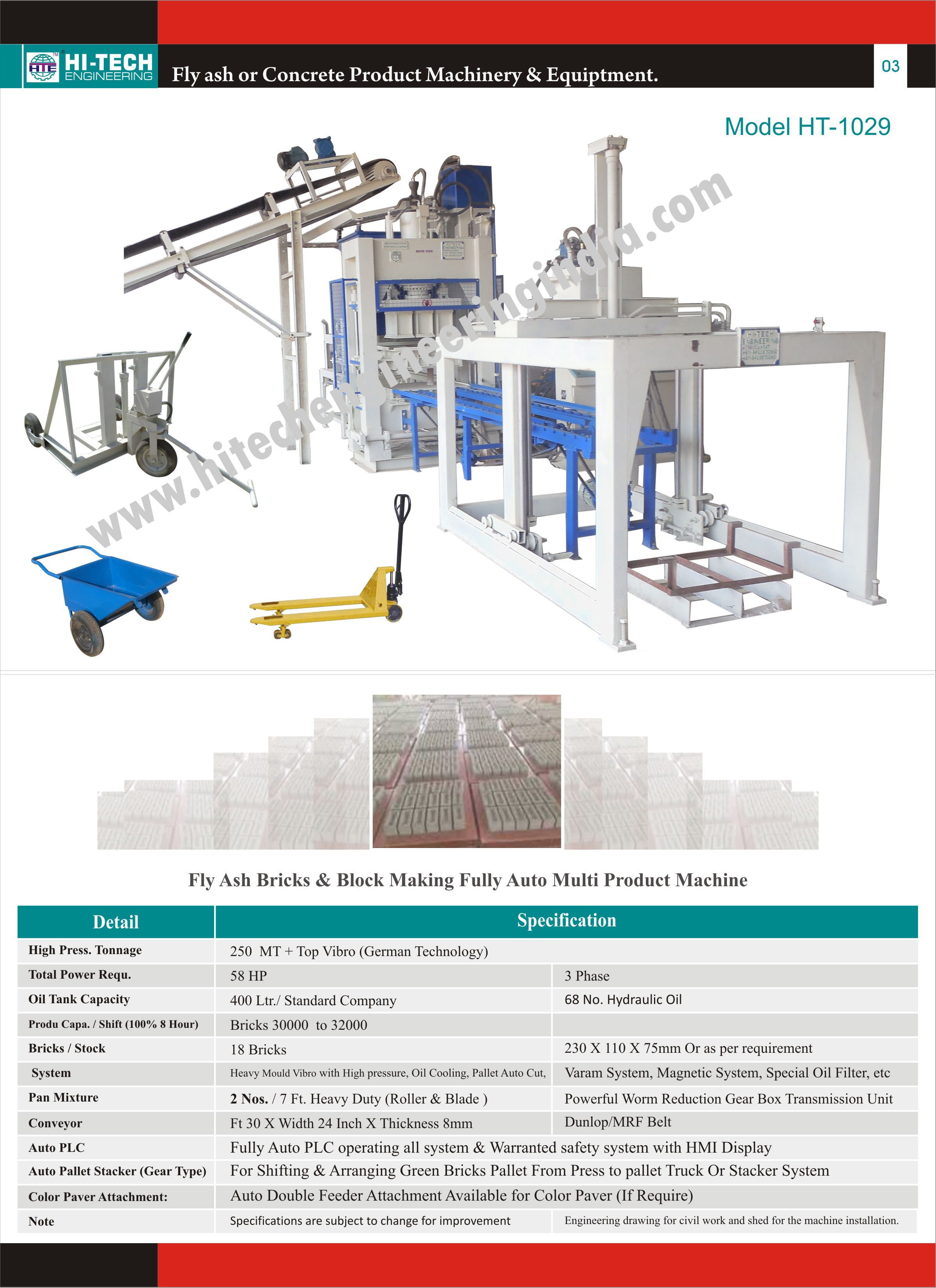 Fully-Automatic-Fly-Ash-Brick-Machine