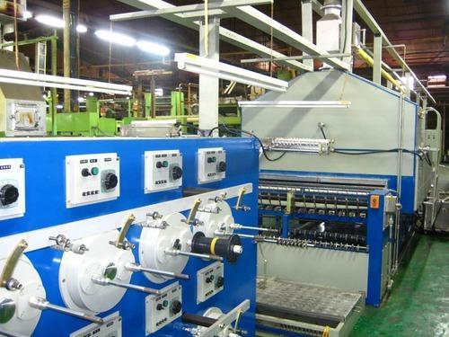 Our company has received huge appreciation as the affluent providers of an optimal quality assortment of Wire Enameling Machine. The offered copper and aluminum Wire Enameling Machine machines are designed using high-grade components and progressive technology. We assure our patrons that our variety is quality assured on predefined limitations, in order to meet global norms. In addition, our prestigious patrons can buy these machines as per their requirements, at highly competitive rates.