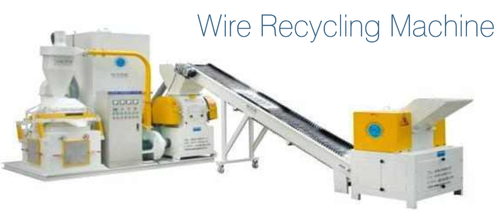 Wire Recycling Machine is offered by us in bulk. The offered Wire Recycling Machine is extensively used for recycling waste & scrap copper, which is popular in America, Europe, etc. Further, the offered products are available in the market in bulk at reasonable rates. The Wire Recycling Machine is known for its hassle free performance. We ensure to deliver the products to customers in given time frame all across the country.   Features:   Approved quality Light weight Excellent finish