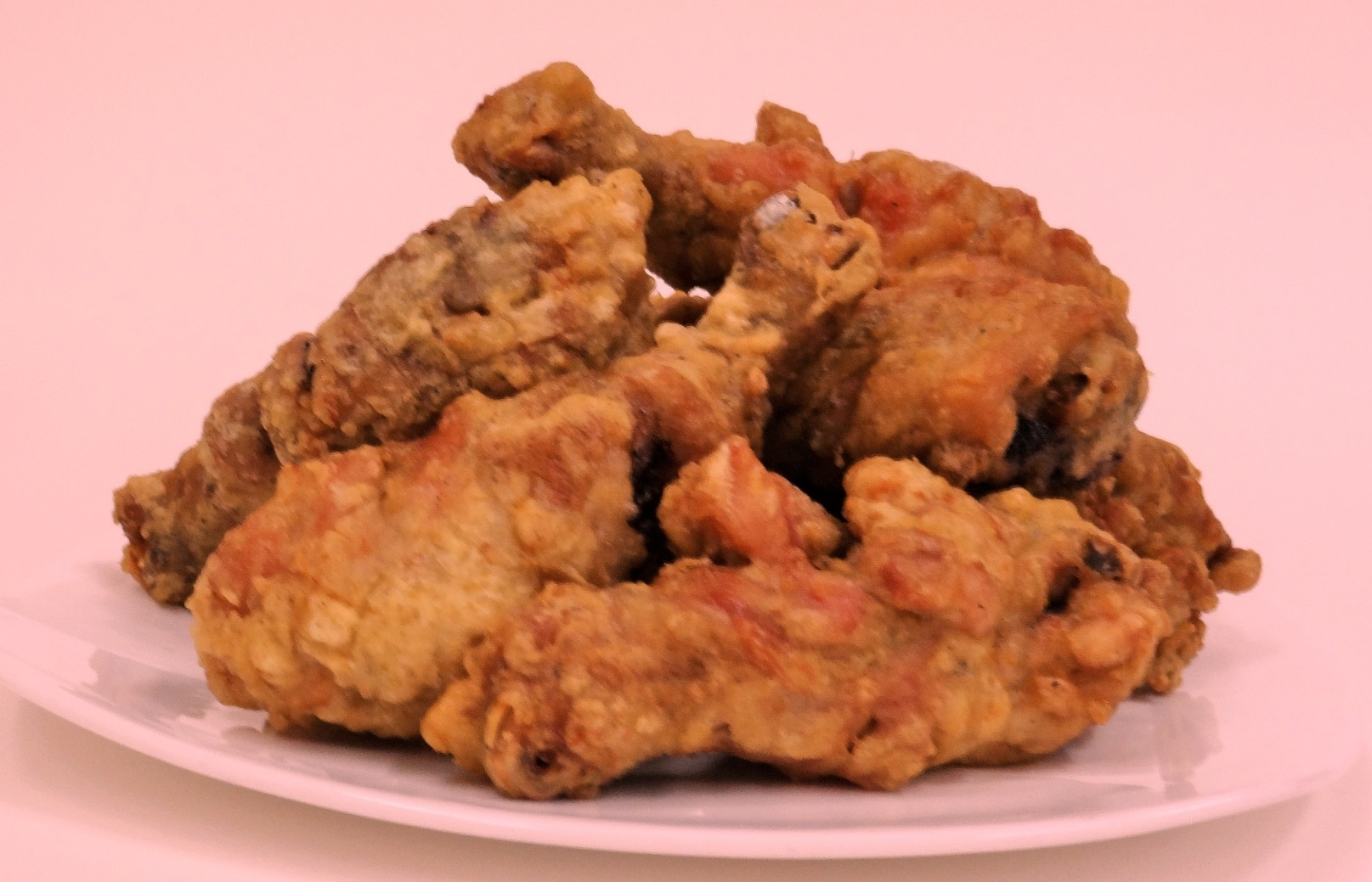 Fried chicken legs, seasoned a various herbs with fresh meats in 24 hours and fried twice of different temp. system for increasing of ingredients and it's helping of killing fats. * Medium (half chicken weight) :  @450.= * Large (full chicken weight) :        @900.=