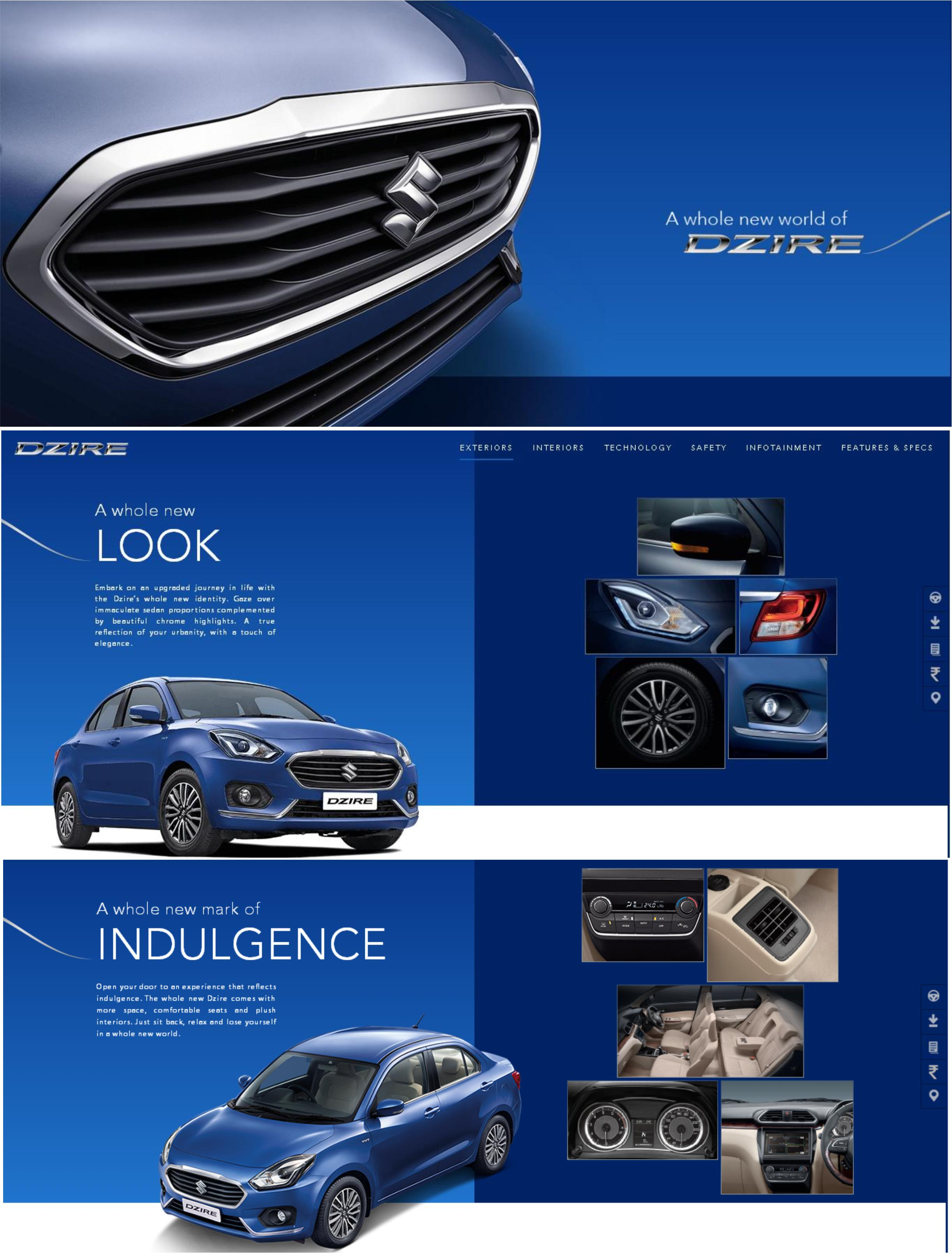 The Whole New World Of Dzire