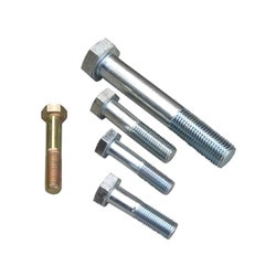 We are renowned company offering SS Half Thread Bolt which are qualities tested and approved by quality controllers. To present these products we take care of the designs which are manufactured by our professionals using premium quality grade material and sophisticated technology. These products are made available in various designs to suit variegated demands of clients'. Products offered by us are widely demanded in the market worldwide.  Features:  Excellent design Durable finish standards Optimally finished
