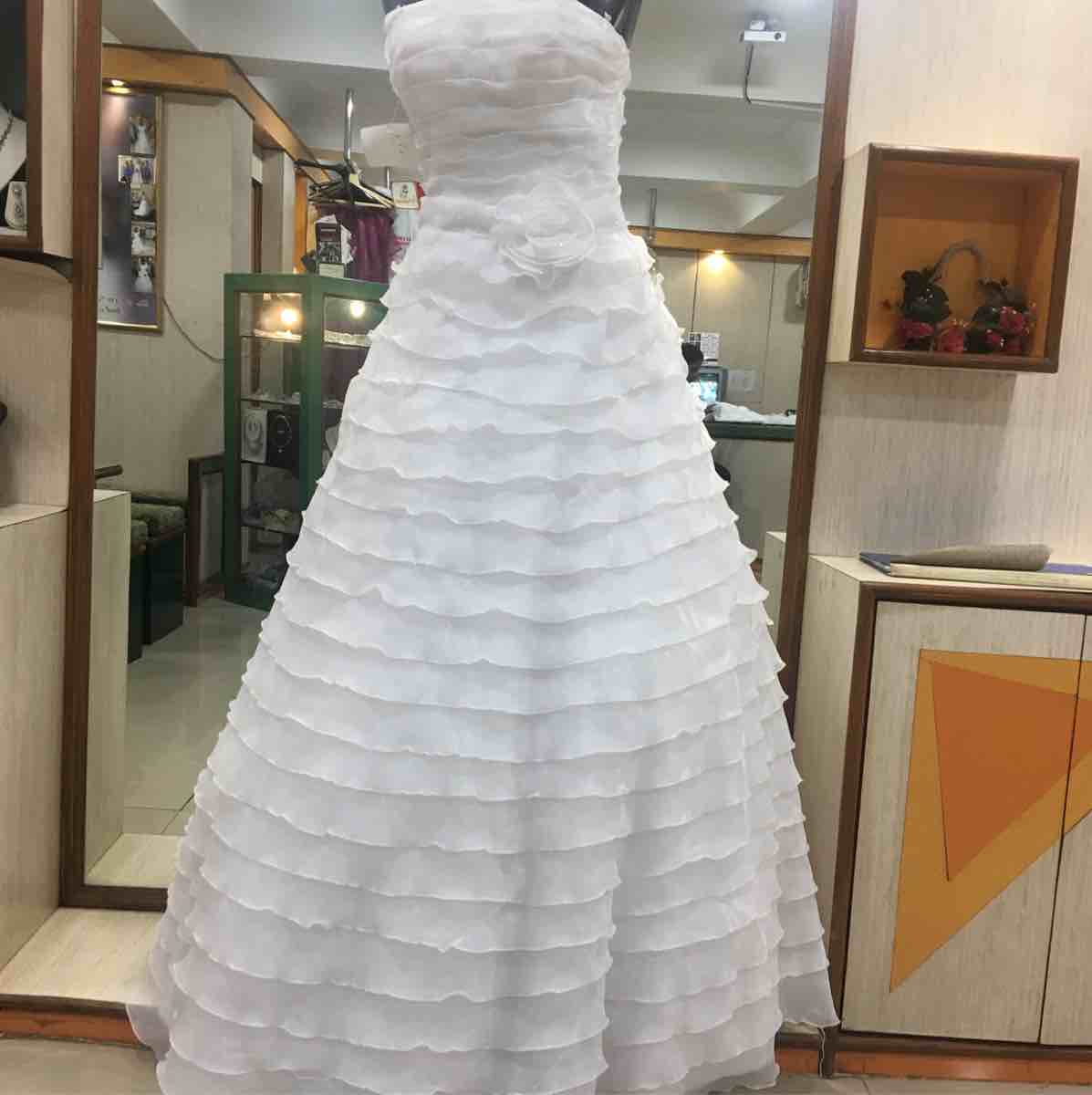 Petals Wedding Gown