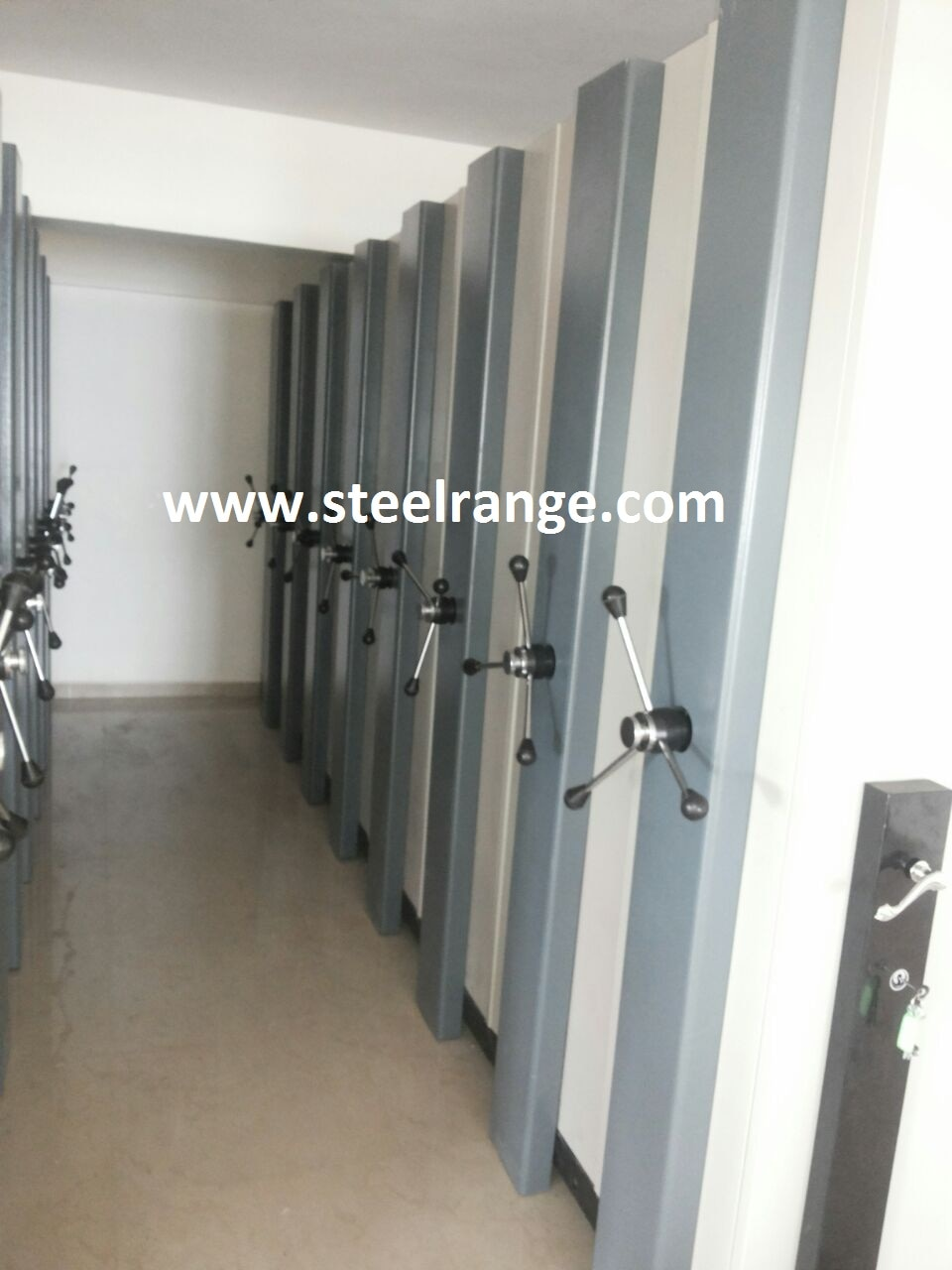 Compactor Storage System / Mobile Rack