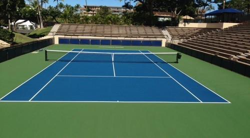 We can create a mini form of tennis court for farmhouses or residences with smaller surface areas. There are many surface options available in the same.