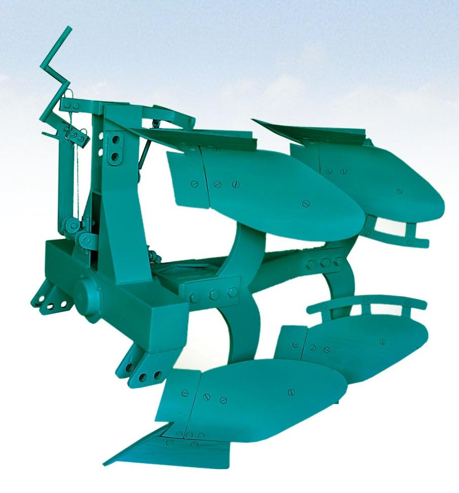 Reversible Plough ( Mechanical -2 Furrow) Model No. Urp Me 215, 30, 35