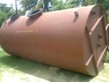 Water Treatment Plant Vessel